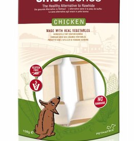 SmartBones Rawhide Alternative Chicken Bones Dog Treats, Medium, 2 pack