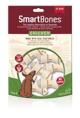 SmartBones Chicken Mini Bones Dog Treats, 8 pack