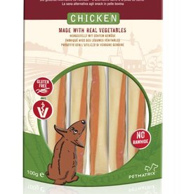SmartBones Rawhide Alternative Chicken Sticks Dog Treats, Mini, 5 pack