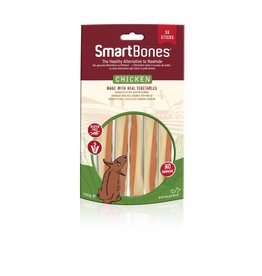 SmartBones Rawhide Alternative Chicken Sticks Dog Treats, Mini, 5 pack