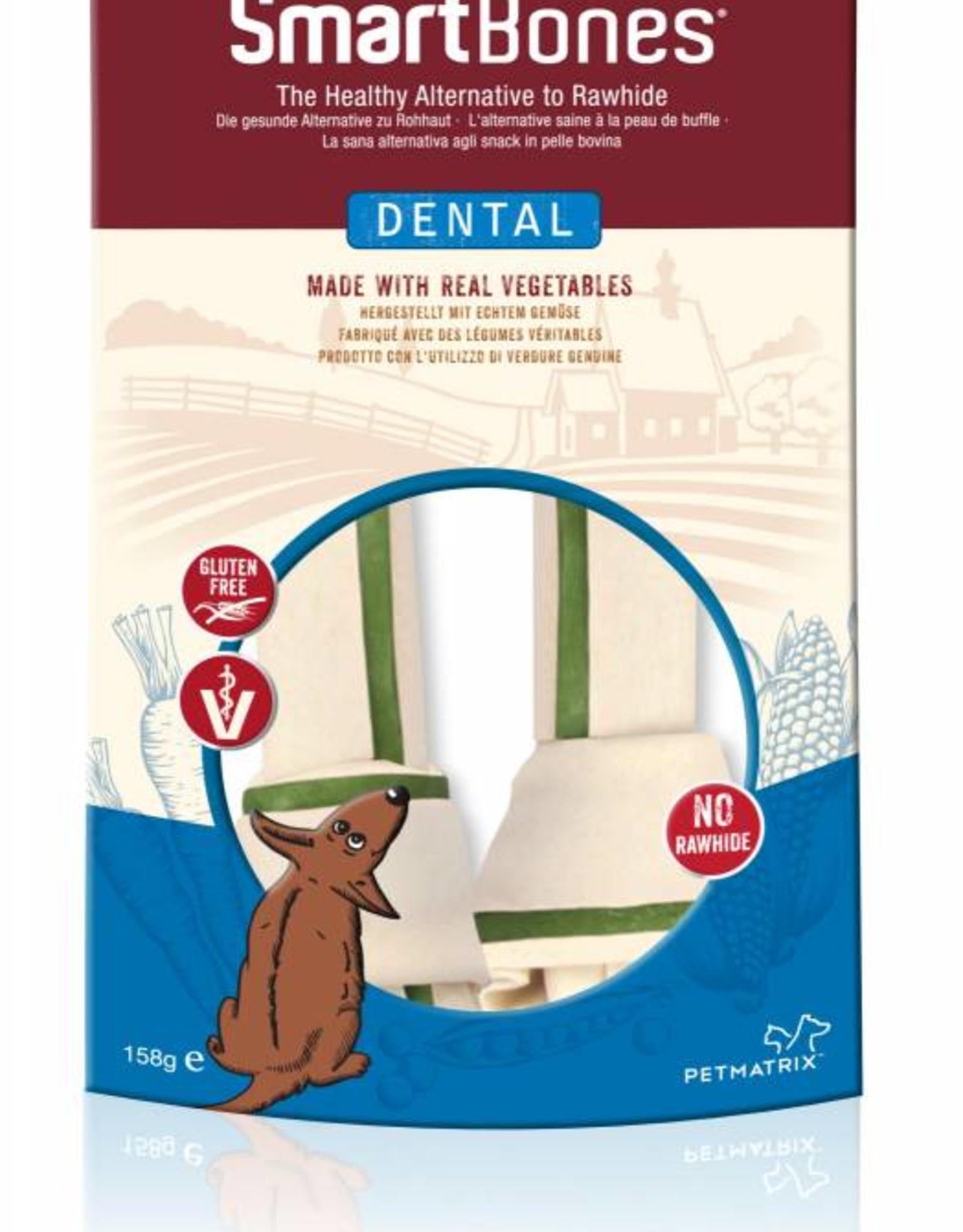 SmartBones Dental Formula Bones Dog Chews, Medium, 2 pack