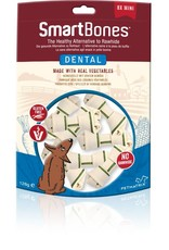 SmartBones Dental Formula Bones Dog Chews, Mini, 8 pack
