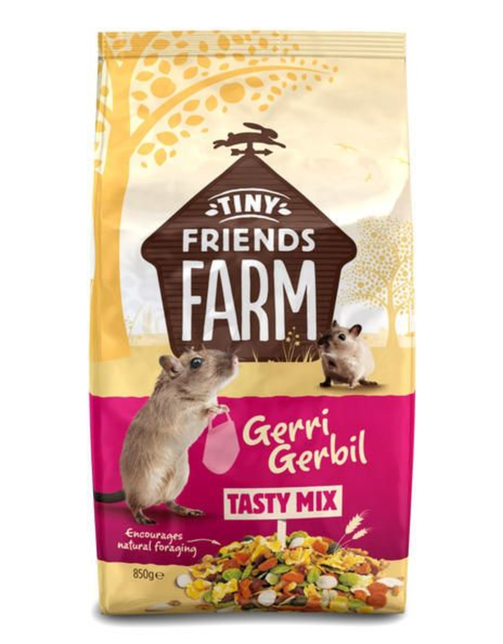 Supreme Tiny Friends Farm Gerri Gerbil Tasty Mix Food 850g