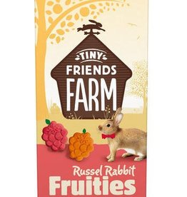 Supreme Tiny Friends Farm Russel Rabbit Fruities with Cherry & Apricot Treats 120g