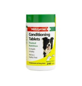 Vetzyme Conditioning Tablets For Dogs, 240 Tablets