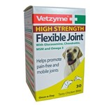 Vetzyme Flexible Joint with Glucosamine Chicken Flavour, 90 Tablets