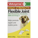 Vetzyme High Strength Flexible Dog Joint Chicken, 30 Tablets