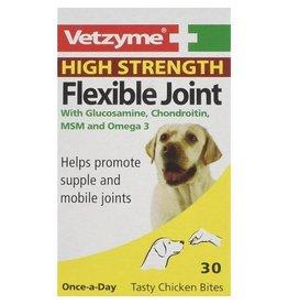 Vetzyme High Strength Flexible Joint Tasty Chicken Bites, 90 tablets