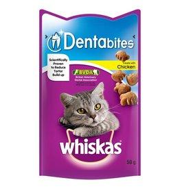 Whiskas Dentabites Chicken Cat Treats, 50g
