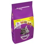 Whiskas Adult Cat Dry Food, Chicken, 2kg