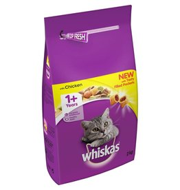 Whiskas Dry Cat Food Adult, Chicken 2kg