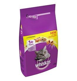 Whiskas Adult Cat Dry Food, Chicken, 2kg