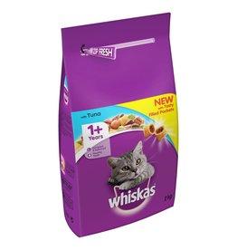 Whiskas Adult Cat Dry Food, Tuna & Veg, 2kg
