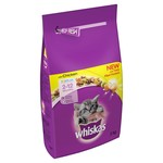 Whiskas Kitten Dry Food, Chicken, 2kg