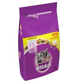 Whiskas Dry Kitten Food, Chicken 2kg