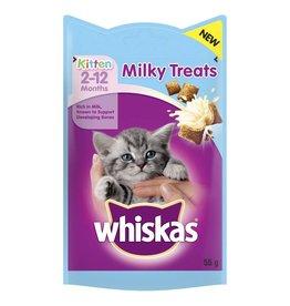 Whiskas Kitten 2-12 Months Milky Treats, 55g
