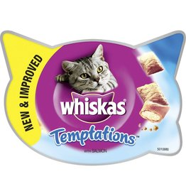 Whiskas Temptations Cat Treats Salmon 60g