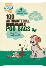 Good Boy Antibacterial Biodegradable Poo Bags, 100 pack