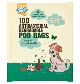 Good Boy Antibacterial Biodegradable Poo Bags pack of 100