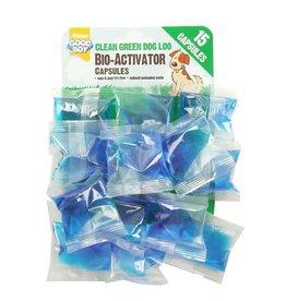 Armitage Green Dog Loo Bio Activator, 15 Capsules