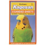 Armitage Kagesan No.3 Orange Bird Cage Sanded Sheets 35cm x 21cm,  8 pack