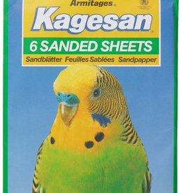 Armitage Kagesan No.4 Green Sanded Sheets 33cm x 25cm, 6 pack