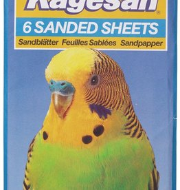 Armitage Kagesan No.5 Blue Bird Cage Sanded Sheets 40cm x 25cm, 6 pack