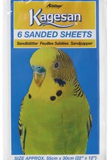 Armitage Kagesan No.7 Bird Cage Sanded Sheets 55cm x 30cm, 6 pack