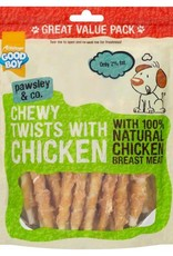 Good Boy Pawsley & Co Chewy Twists with Chicken Dog Treats, 320g