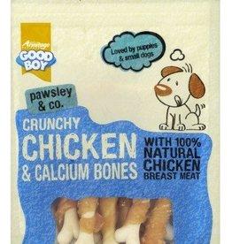 Good Boy Pawsley & Co Crunchy Chicken & Calcium Bones Dog Treats 100g