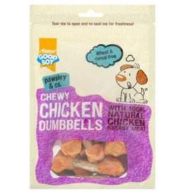 Good Boy Pawsley & Co Chewy Chicken Dumbbells Dog Treats, 100g