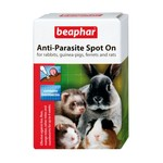 Beaphar Anti Parasite Spot-On for Rabbits & Guinea Pigs, 4 pack