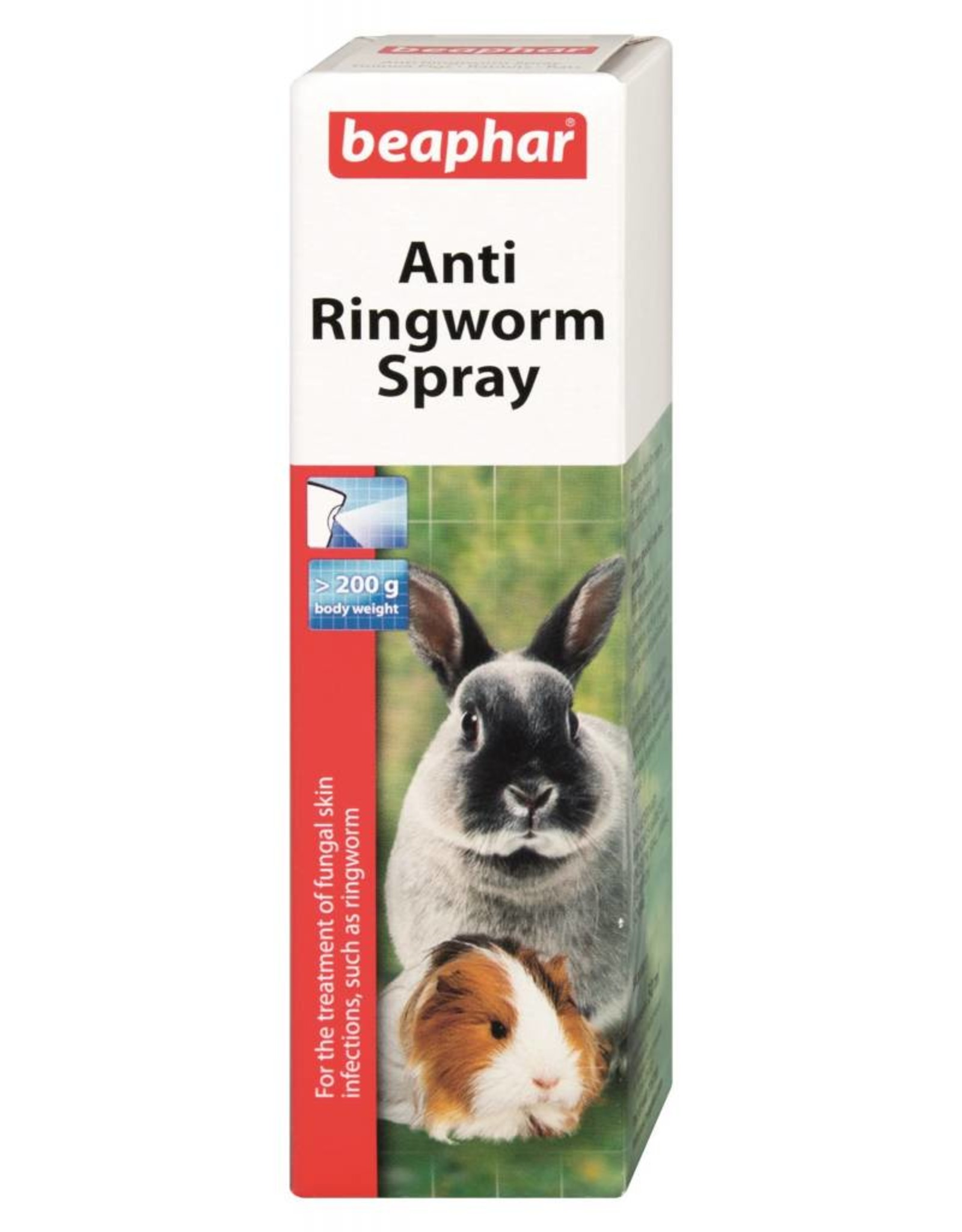 Beaphar Anti Ringworm Spray for Small Animals, 50ml