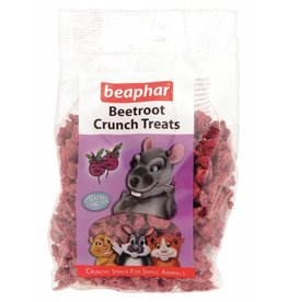 Beaphar Beetroot Crunch Small Animal Treats, 150g