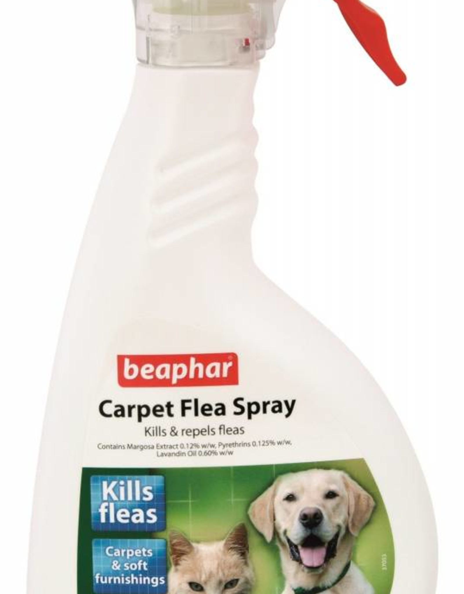 Beaphar Carpet Flea Spray, 400ml