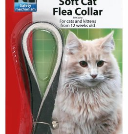 Beaphar Cat Flea Collar Velvet - Assorted Colours 30cm