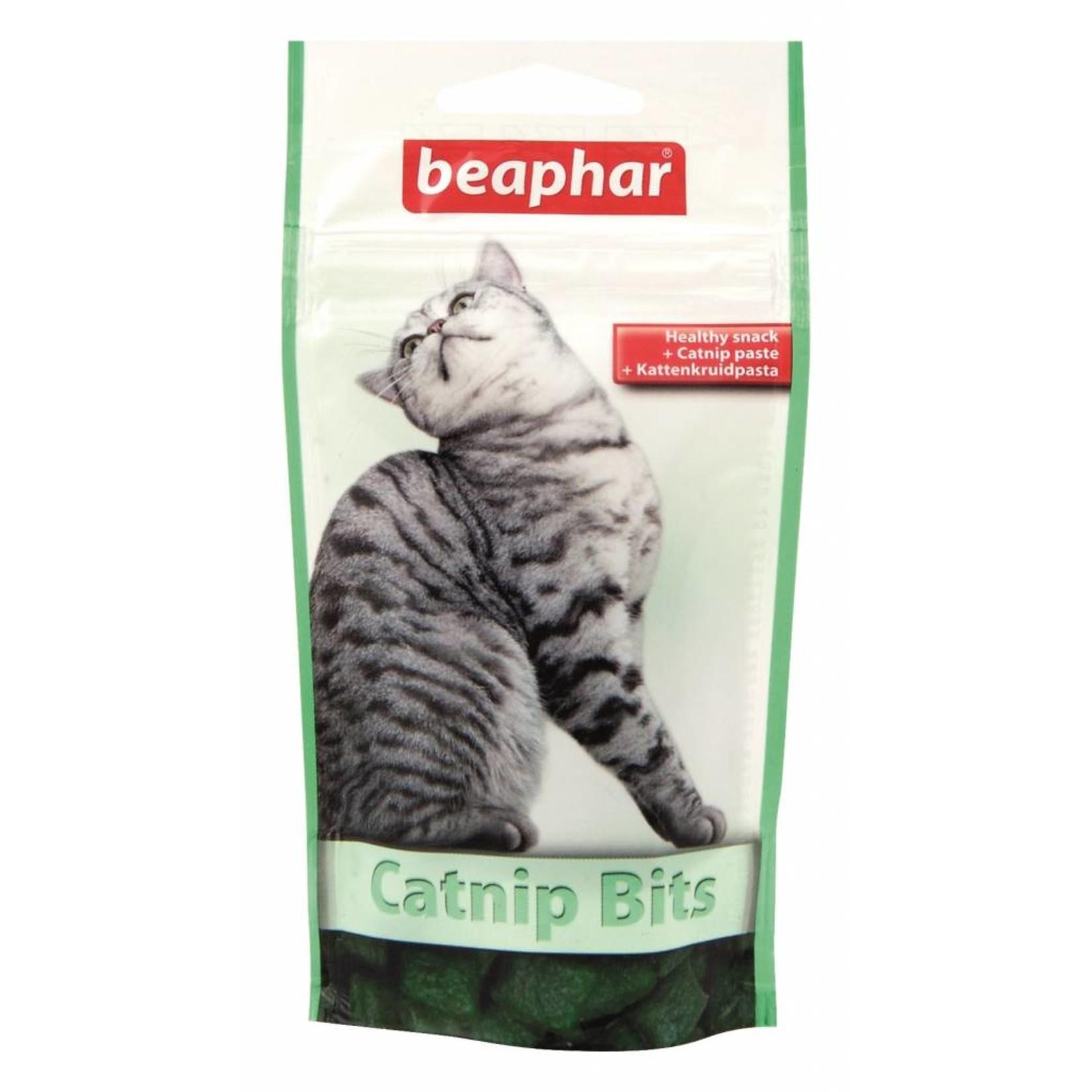 Beaphar Catnip Bits Cat Treats, 35g