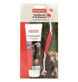 Beaphar Dental Kit for Dogs, 100g