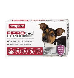 Beaphar FIPROtec Combo Flea & Tick Spot On for Small Dogs