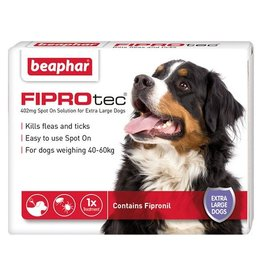 Beaphar FIPROtec Flea & Tick Spot On Solution for Extra Large Dogs