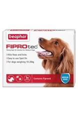 Beaphar FIPROtec Flea & Tick Spot On Solution for Medium Dogs