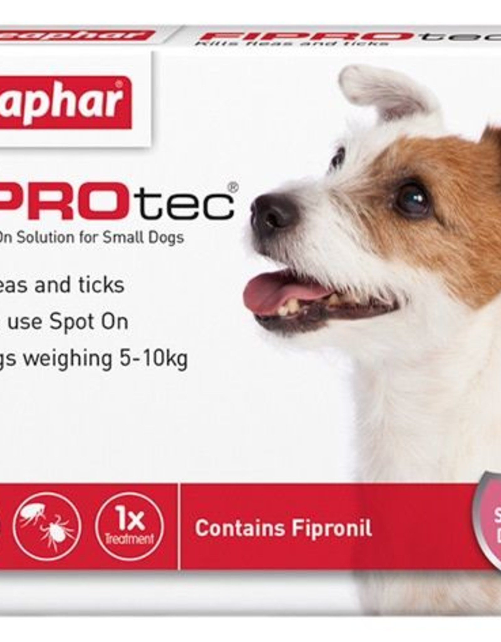 Beaphar FIPROtec Flea & Tick Spot On Solution for Small Dogs