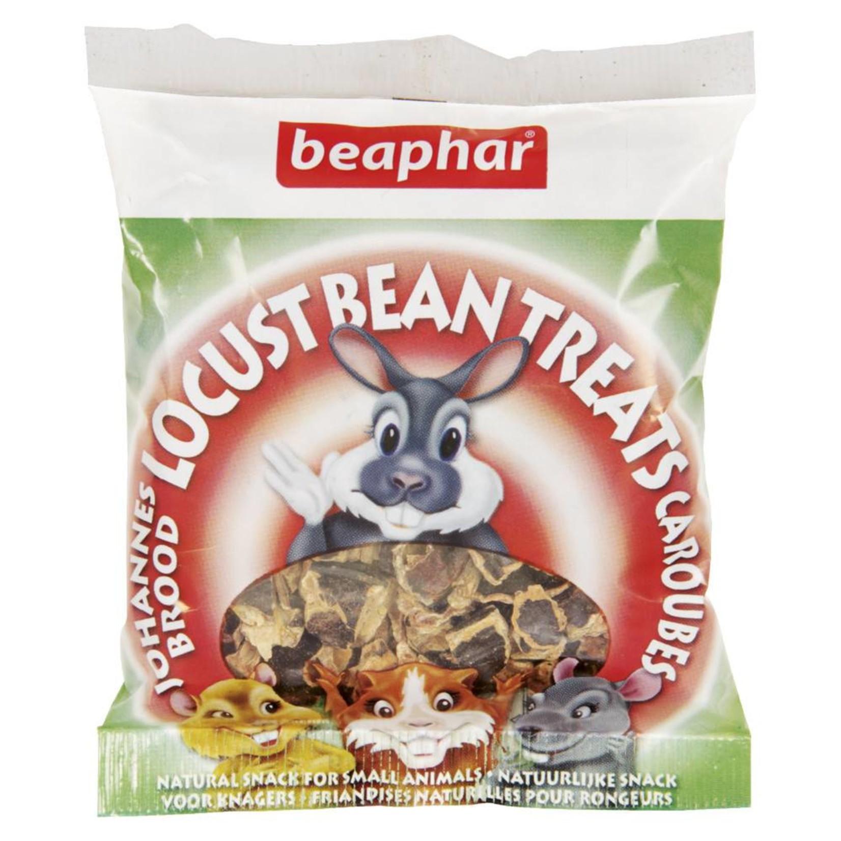 Beaphar Locust Bean Treats for Small Animals, 85g
