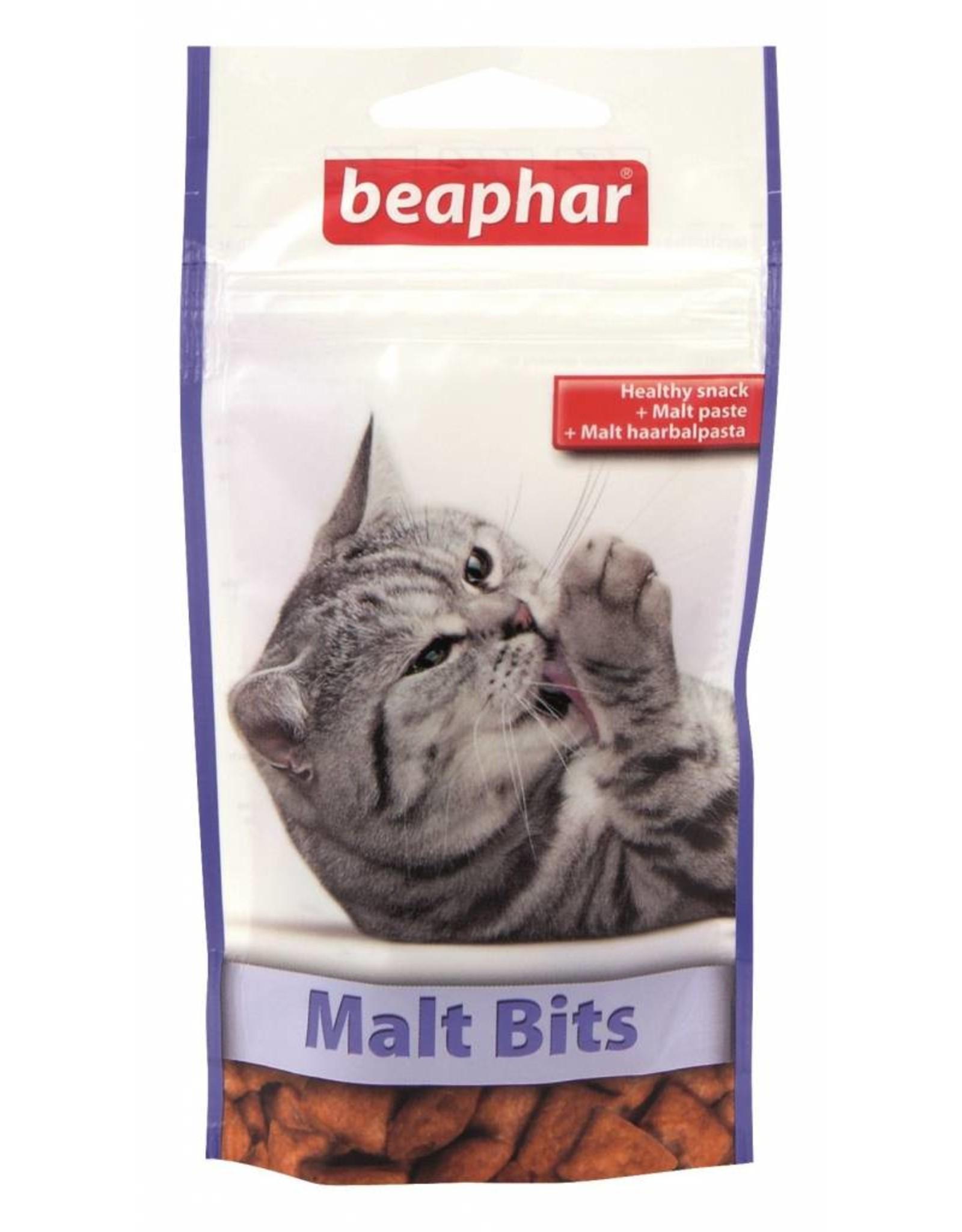 Beaphar Malt Bits Cat Treats, 35g