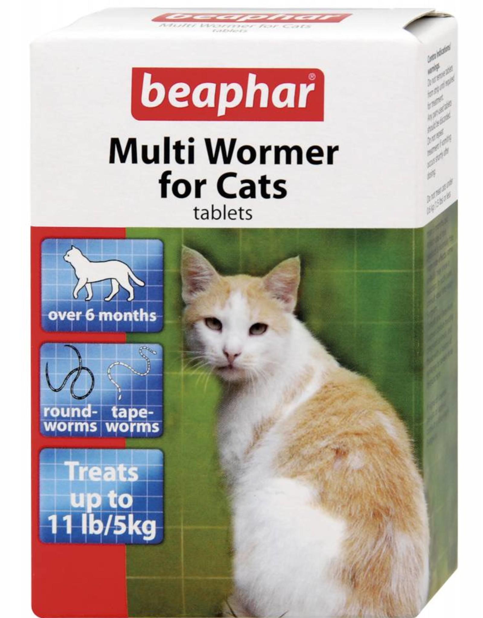 Beaphar Multi Wormer for Cats, 12 Tablets