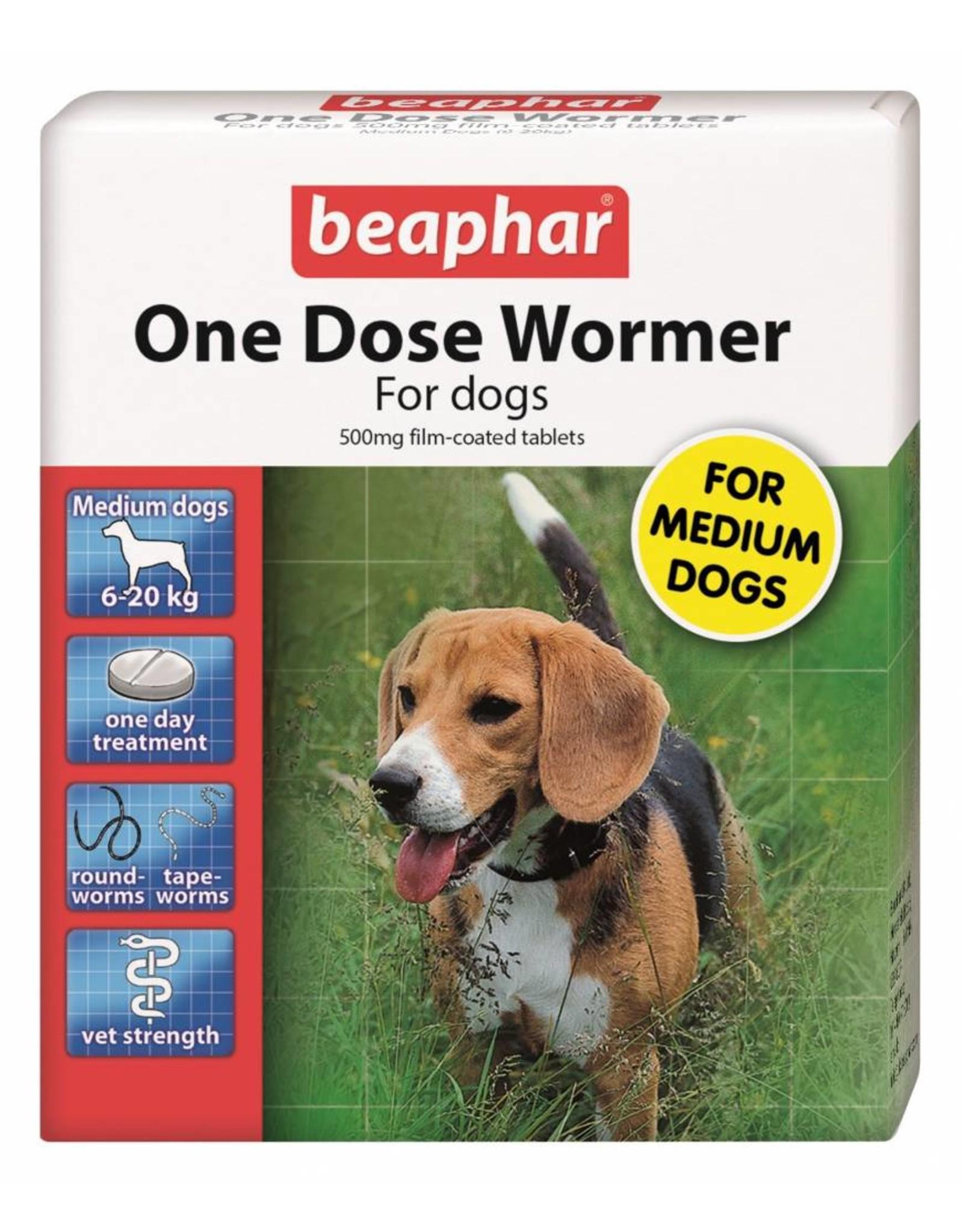 Beaphar One Dose Wormer for Dogs