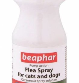 Beaphar Pump Flea Spray for Cats & Dogs 150ml
