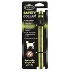 Beaphar Safety Fluorescent Reflective Dog Collar, Medium/Large
