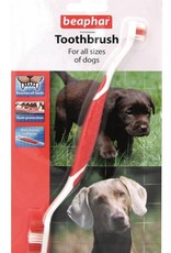 Beaphar Double Toothbrush for Dogs