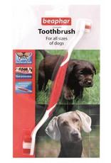 Beaphar Double Toothbrush for Dogs